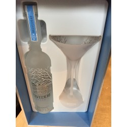 Coffret Vodka Belvédère