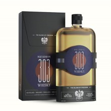 SQUADRON 303 BLEND OF FREEDOM WHISKY