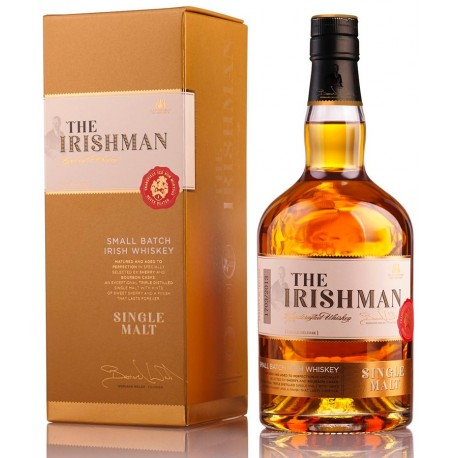 Whiskey The Irishman Single Malt 10 ans